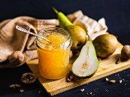 Рецепта Лесно домашно сладко от круши със захар и карамфил в тенджера